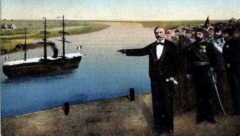 Ferdinand de Lesseps et le Canal de Suez